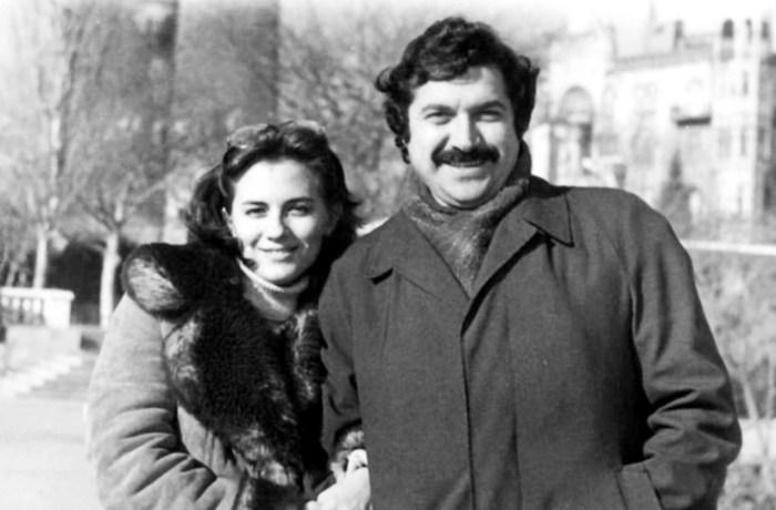 Юлий Гусман и его любима Валя. / Фото: www.eg.ru