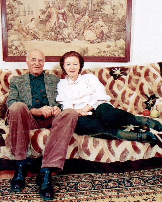 Владимир Этуш и Нина Крайнова. / Фото: www.mtdata.ru