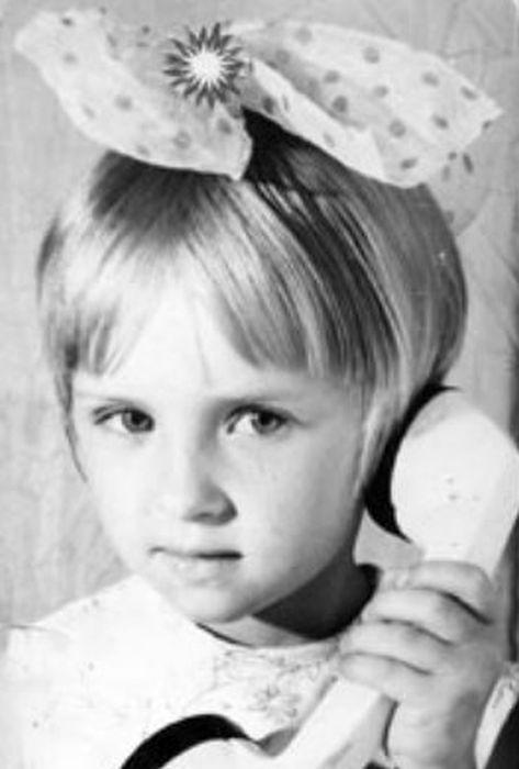Елена Ксенофонтова в детстве. / Фото: www.ksenofontova.ru