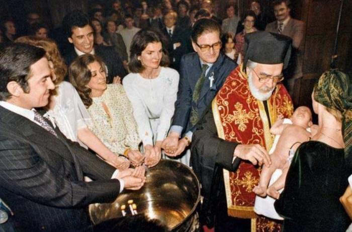 Крещение сына Наталии Макаровой.