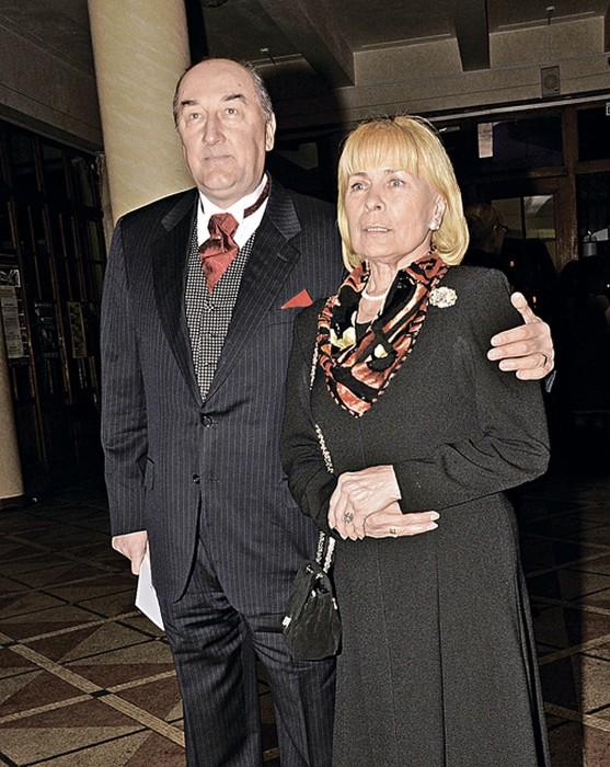 Борис Клюев с женой Викторией. / Фото: www.kpcdn.net