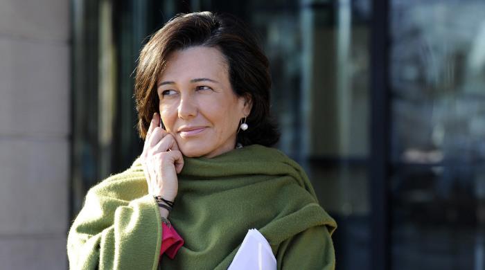 Ана Патрисия Ботин-Санс, председатель совета директоров и исполнительный директор финансово-кредитной группы Santander. / Фото: www.gazeta.ru