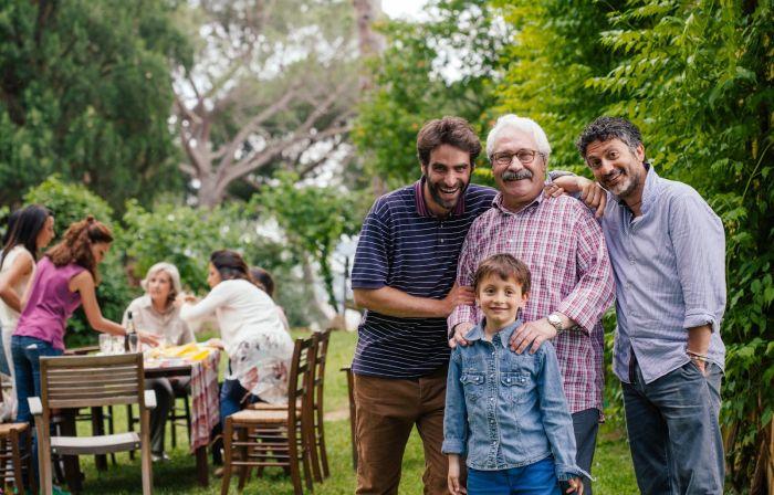 Итальянцы очень дорожат своей семьёй. / Фото: www.sabai.tv