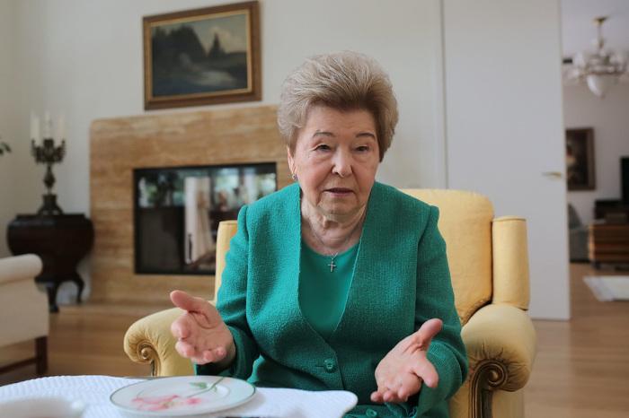 Наина Ельцина. / Фото: www.sovetinfo.ru