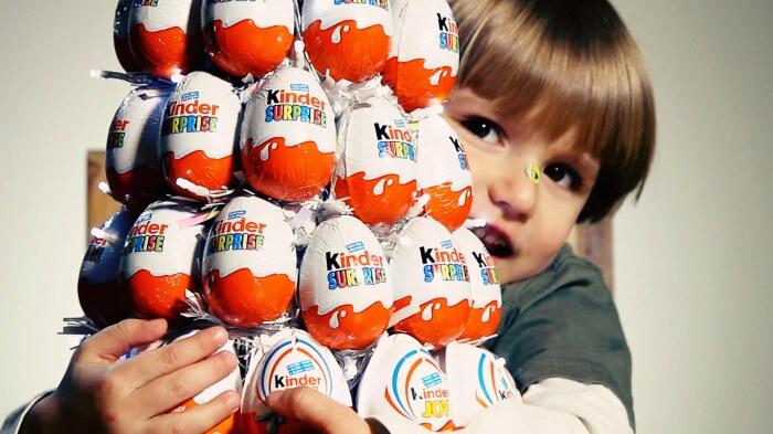 Kinder Surprise. / Фото: www.yesofcorsa.com