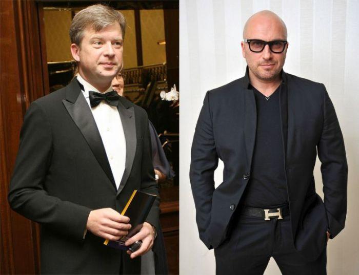 Валдис Пельш и Дмитрий Нагиев.