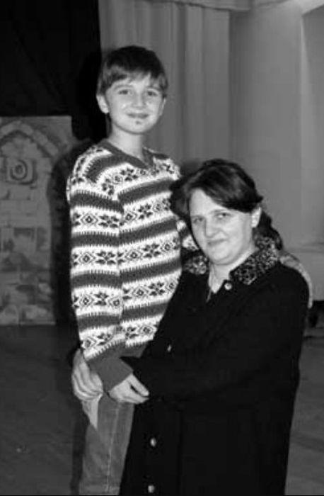 Ксения Румянцева с сыном Никитой. / Фото: www.smena.ru
