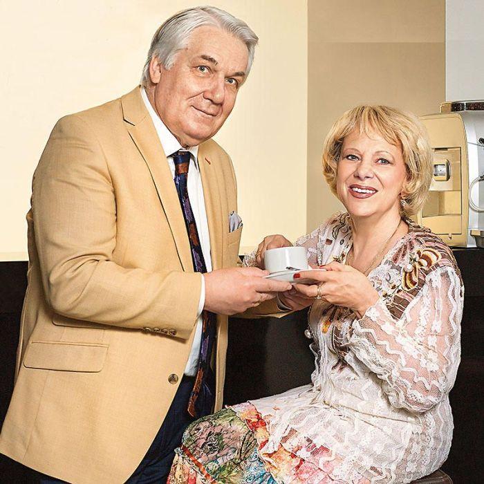 Наталия Санько и Юрий Шлыков. / Фото: www.mirtesen.ru