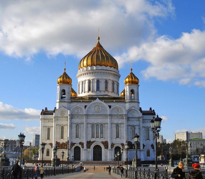 Кафедральный Соборный Храм Христа Спасителя. / Фото: www.rasfokus.ru