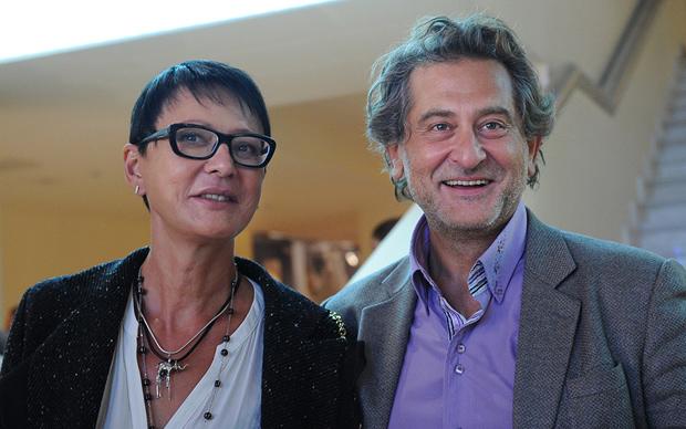 Ирина Хакамада и Владимир Сиротинский. / Фото: www.liveinternet.ru