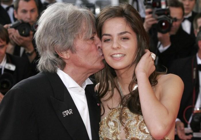 Анушка Делон с отцом. / Фото: www.irma-stream.ru