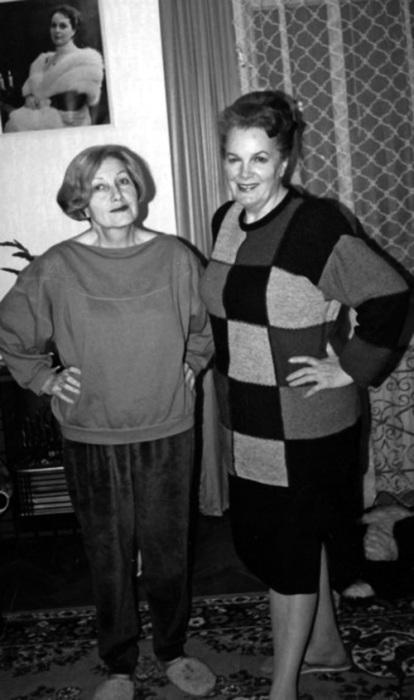 Элина Быстрицкая и Софья Шегельман. / Фото: www.aldebaran.ru