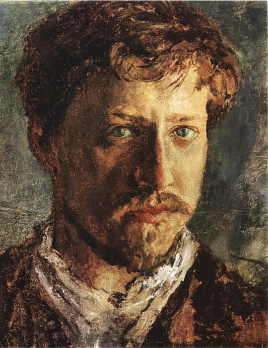 Валентин Серов. Автопортрет. / Фото: www.wikimedia.org