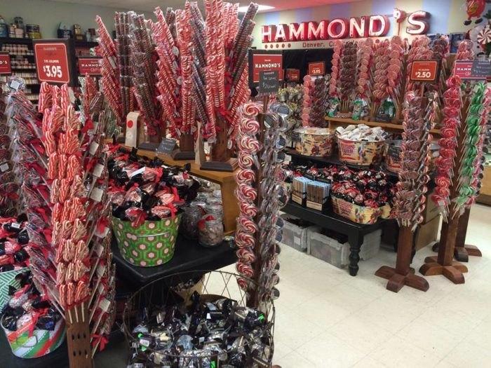 Продукция Hammond's Candies. / Фото: www.onlyinyourstate.com