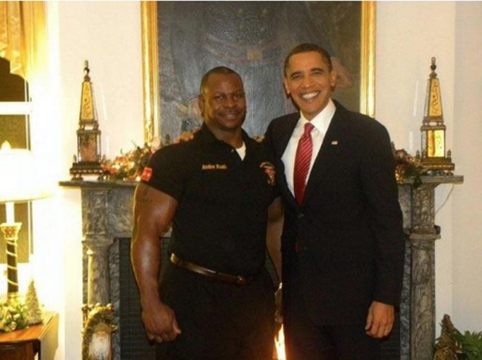 Андре Раш и Барак Обама. / Фото: www.ribalych.ru