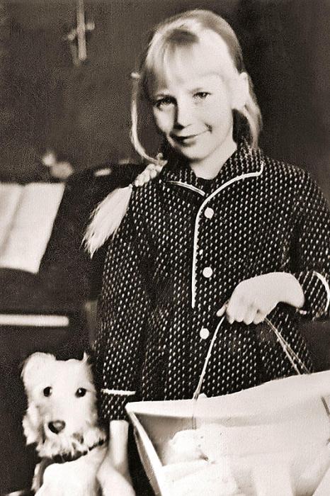 Ирина Пуртова в детстве. / Фото: www.7days.ru