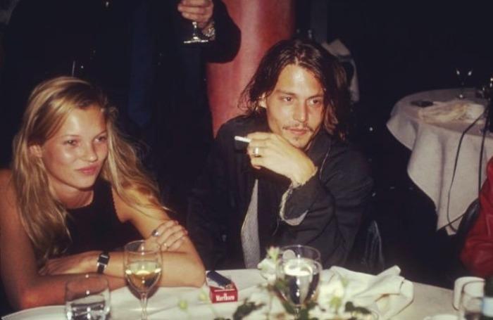 Джонни Депп и Кейт Мосс. / Фото: www.tumblr.com