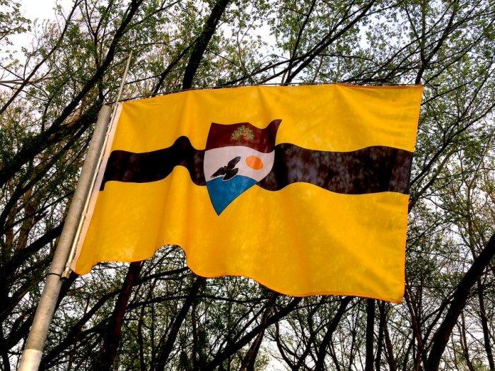 Флаг Либерленда. / Фото: www.twitter.com