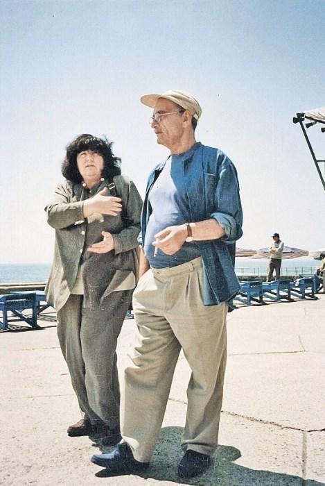 Виктория Токарева и Георгий Данелия. / Фото: www.kpcdn.net