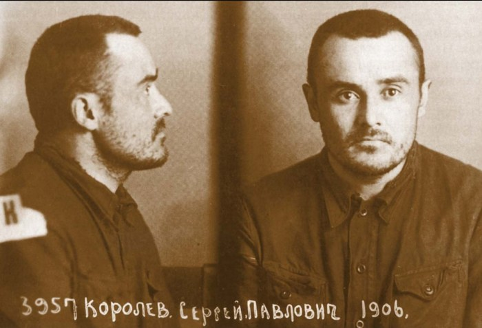 Сергей Королёв в тюрьме. / Фото: www.twimg.com