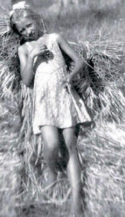 Наталия Макарова в 11-летнем возрасте.
