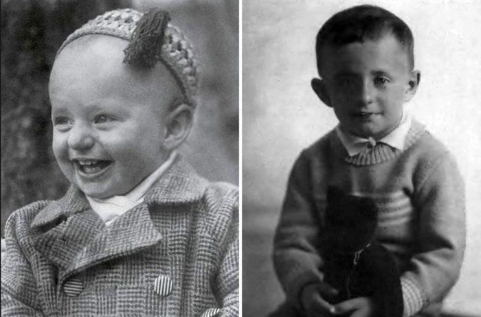 Марк Захаров в детстве. / Фото: www.nastroy.net