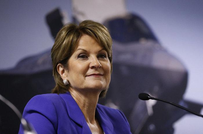 Мэрилин Хьюсон, генеральный директор Lockheed Martin. / Фото: www.onedio.com