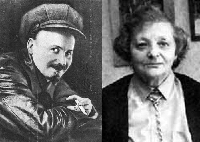 Николай Бухарин и Эсфирь Гурвич.