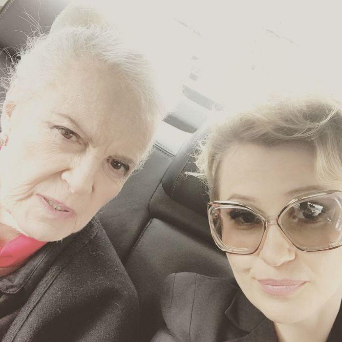 Элина Быстрицкая и Ксения Рубцова. / Фото: www.facebook.com, с личной страницы Ксении Рубцовой