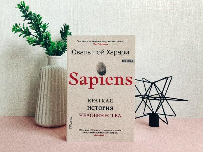 «Sapiens: Краткая история человечества», Юваль Ной Харари. / Фото: www.yandex.net