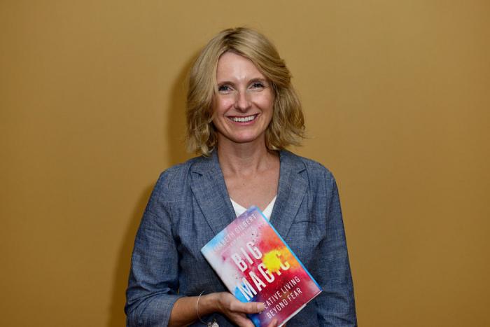 Элизабет Гилберт. / Фото: www.marieclaire.ua