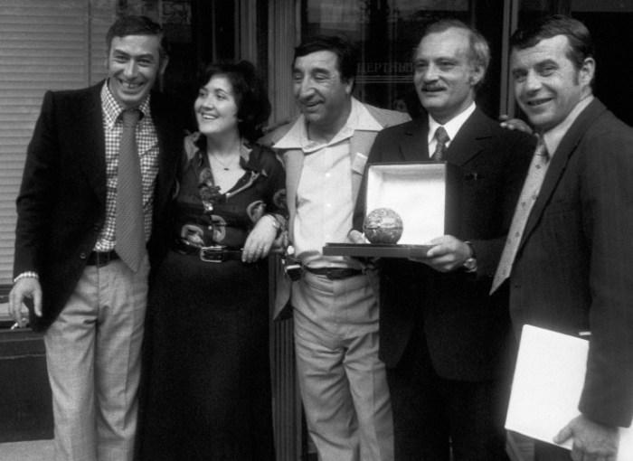 Группа создателей фильма «Мимино». / Фото: www.yarcenter.ru