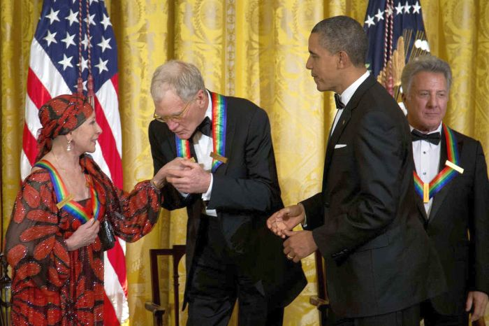 Наталия Макарова на церемонии вручения наград Кеннеди-Центра, 2012 год. / Фото: www.runyweb.com