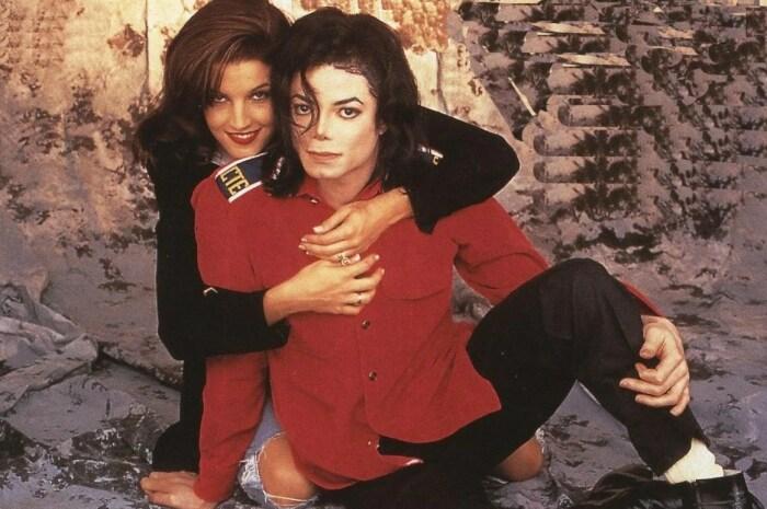 Майкл Джексон и Лиза Мария Пресли. / Фото: www.yandex.net