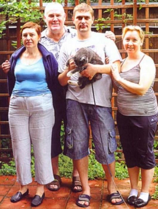 Валерий Хлевинский с семьёй. / Фото: www.yandex.net