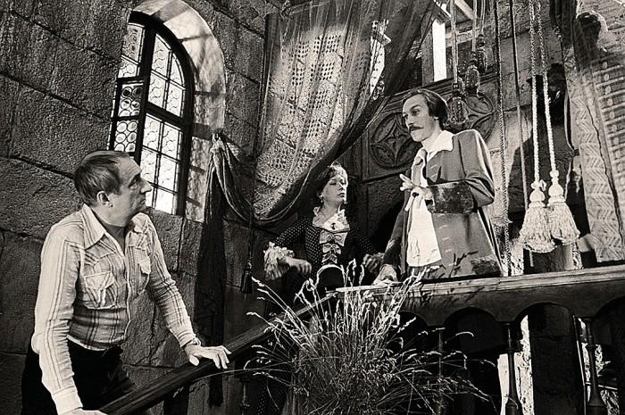 Марк Захаров на съёмках фильма «Тот самый Мюнхаузен». / Фото: www.milbaby.ru