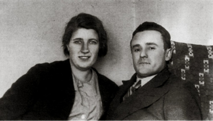 Сергей Королёв и Ксения Винцентини. / Фото: www.odessa-memory.info