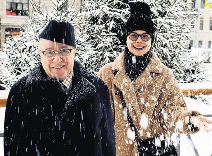 Евгений Петросян и Татьяна Брухунова. / Фото: www.nastroy.net