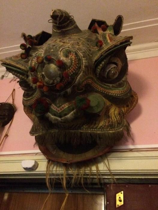Одна из масок в музее-квартире Сергея Образцова. / Фото: www.tripadvisor.ru