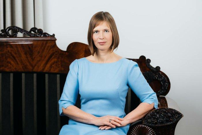 Керсти Кальюлайд - президент Эстонии. / Фото: www.yandex.net