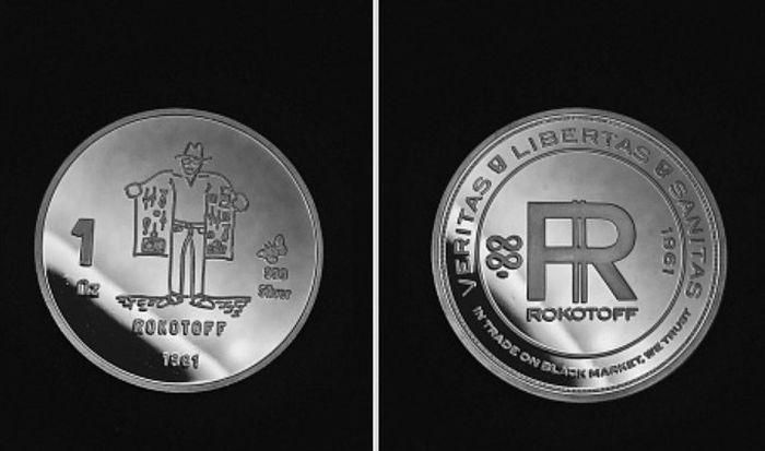 Памятная монета Один Рокотов. / Фото: www.staraya-moneta.ru