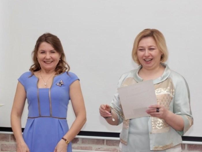 Екатерина Аверкиева и Мария Шибина. / Фото: www.forbes.ru