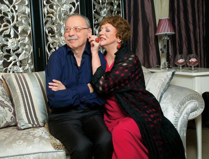 Светлана Коркошко и Владимир Салюк. / Фото: www.7days.ru