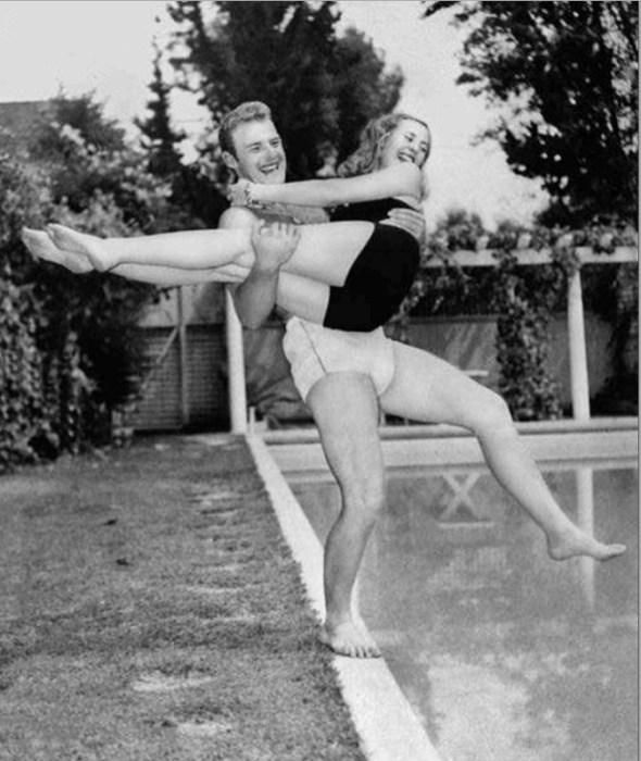 Мишель Морган и Уильям Маршалл. / Фото: www.galabiography