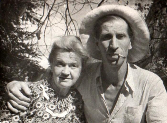 Сергей Филиппов и Антонина Голубева. / Фото: www.albomspb.ru