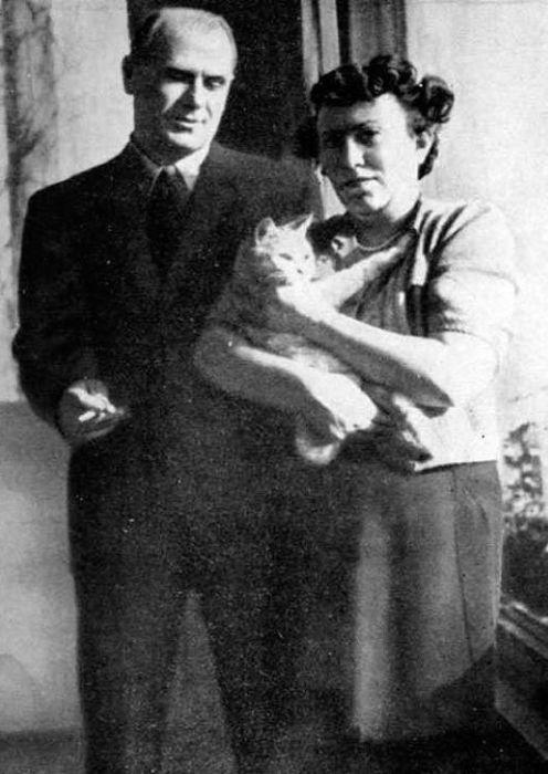 Борис Бабочкин и Екатерина Георгиева. / Фото: www.yandex.net