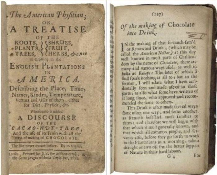 Уильям Хьюз опубликовал свой знаменитый трактат по американской Ботанике в 1672 году. / Фото: www.rarecooking.com