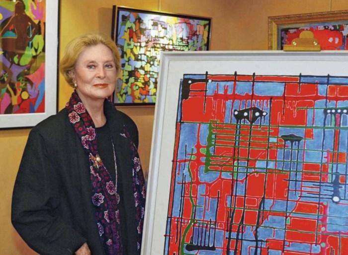Мишель Морган выставляла и даже продавала свои картины. / Фото: www.purepeople.com