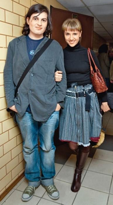 Племянник Ирины Ивановны Александр и дочь Ксения. / Фото: www.bulvar.com.ua
