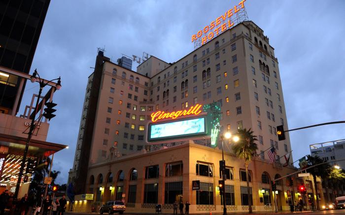 Отель «Голливуд Рузвельт», Лос-Анджелес, Калифорния. / Фото: www.gettyimages.com
